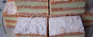 Prăjitură cu bulion şi griş